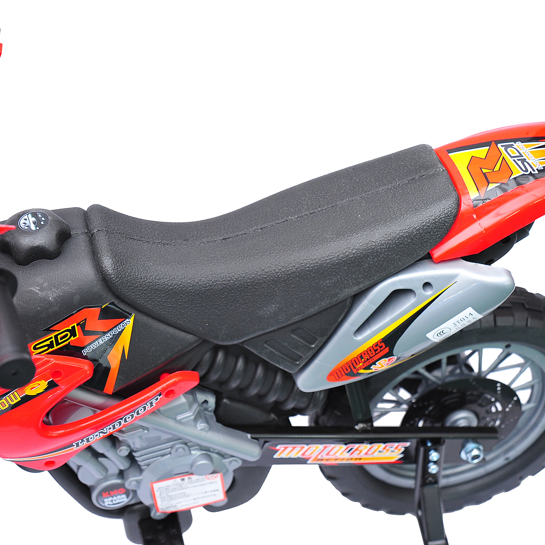 Moto-Electrica-Infantil-Bateria-Recargable-6V-Ninos-3-Anos-Cargador-Ruedas-Apoyo miniatura 17