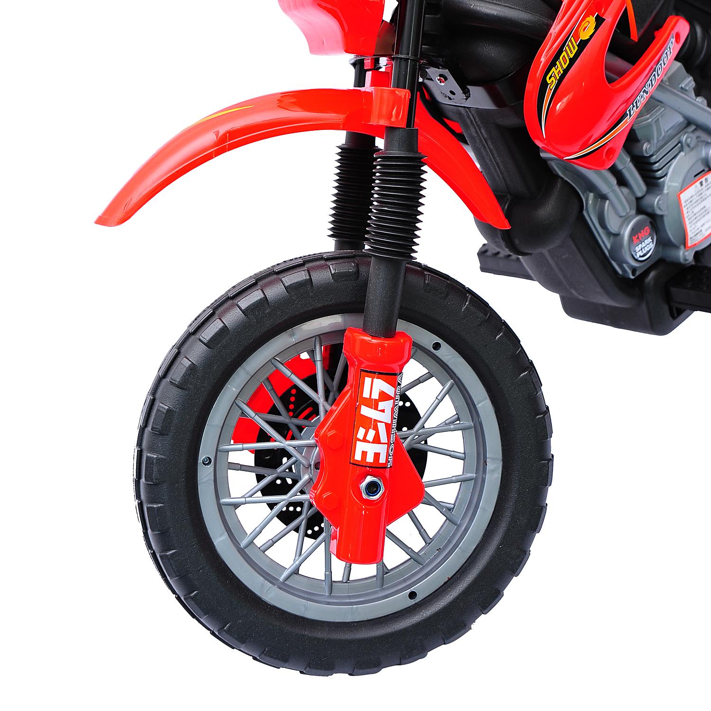 Moto-Electrica-Infantil-Bateria-Recargable-6V-Ninos-3-Anos-Cargador-Ruedas-Apoyo miniatura 19