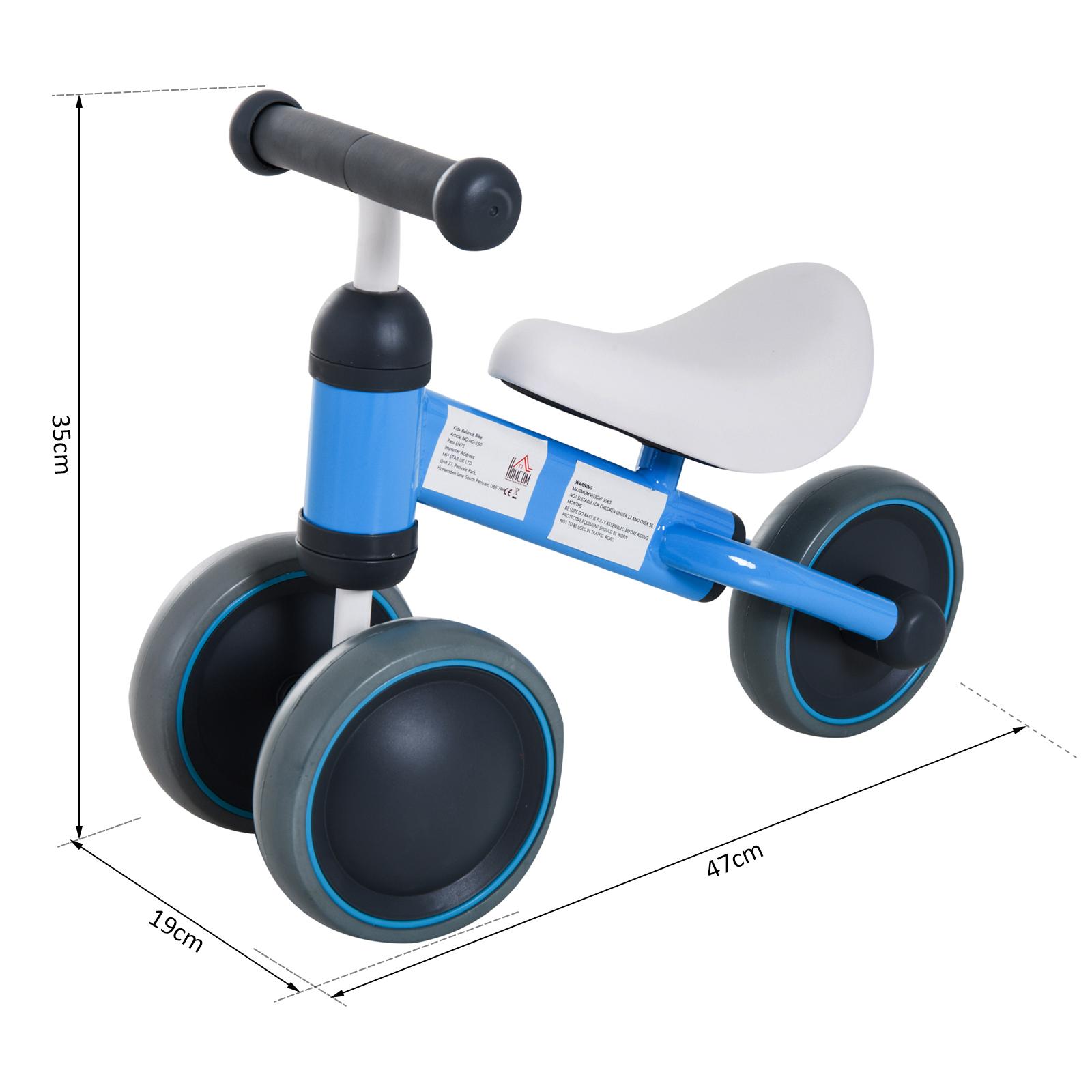 Triciclo-Bicicleta-sin-Pedales-para-Nino-1-3-Anos-Sillon-Comodo-Aluminio miniatura 20
