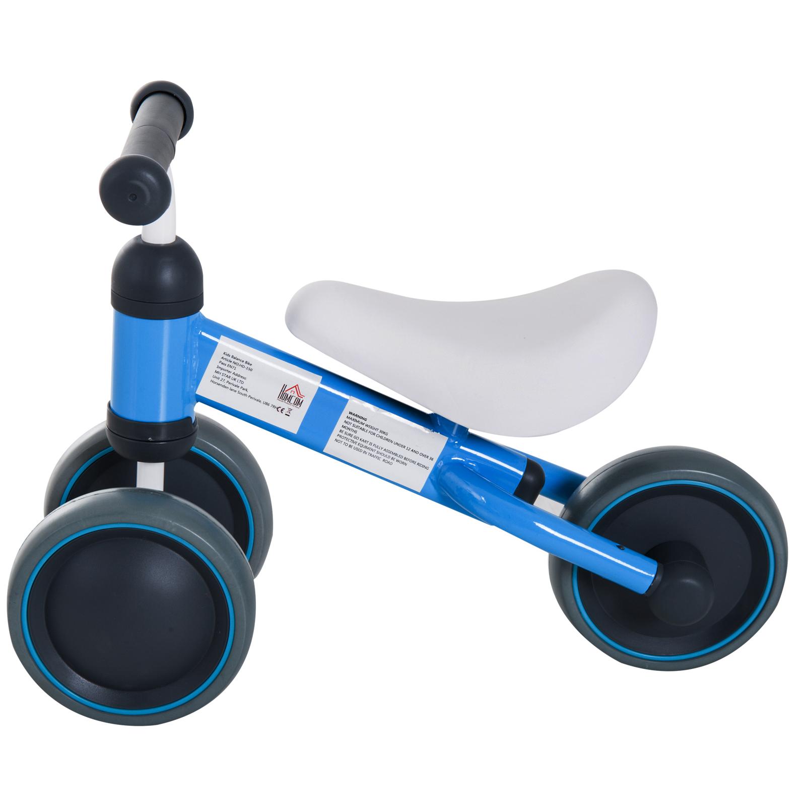 Triciclo-Bicicleta-sin-Pedales-para-Nino-1-3-Anos-Sillon-Comodo-Aluminio miniatura 19