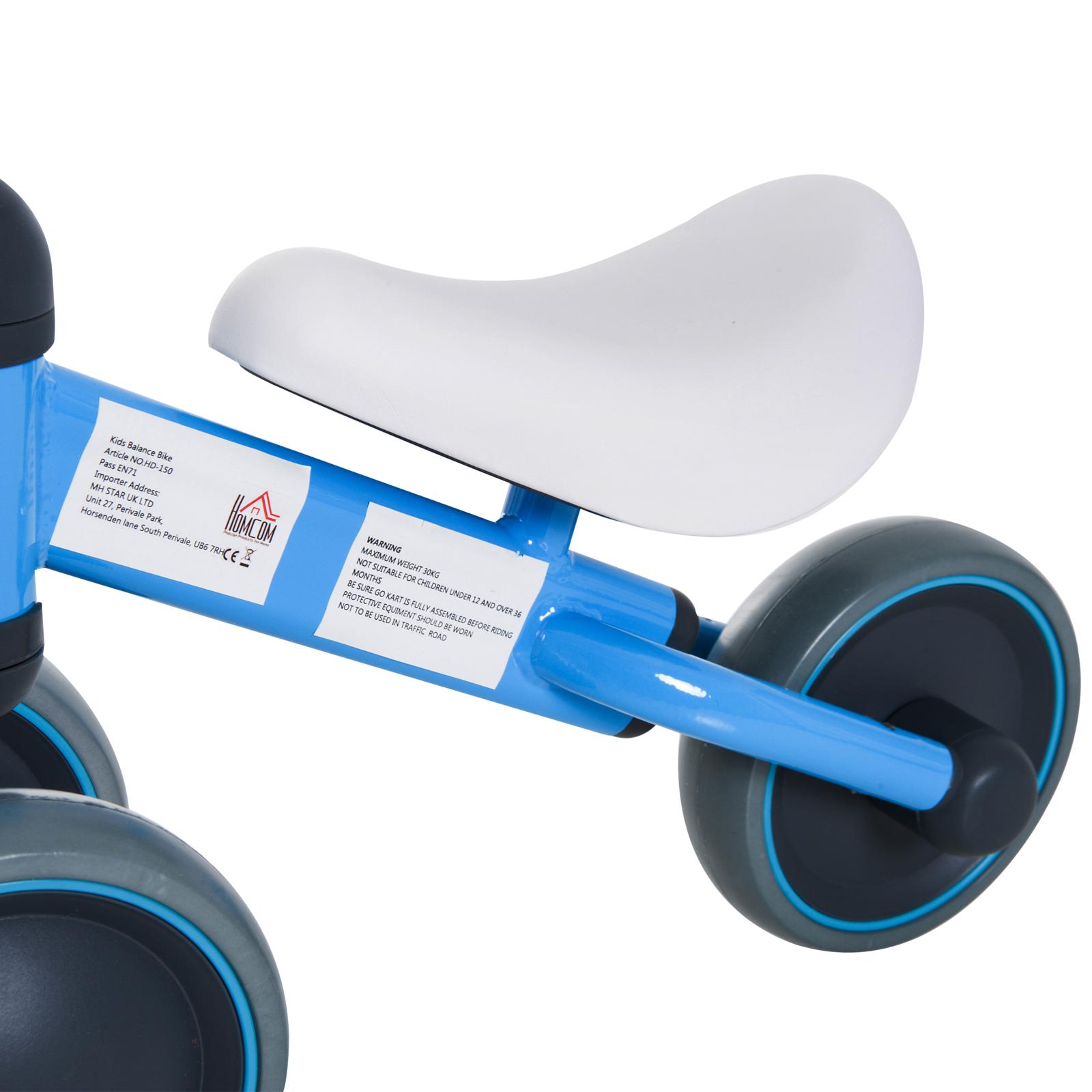 Triciclo-Bicicleta-sin-Pedales-para-Nino-1-3-Anos-Sillon-Comodo-Aluminio miniatura 24