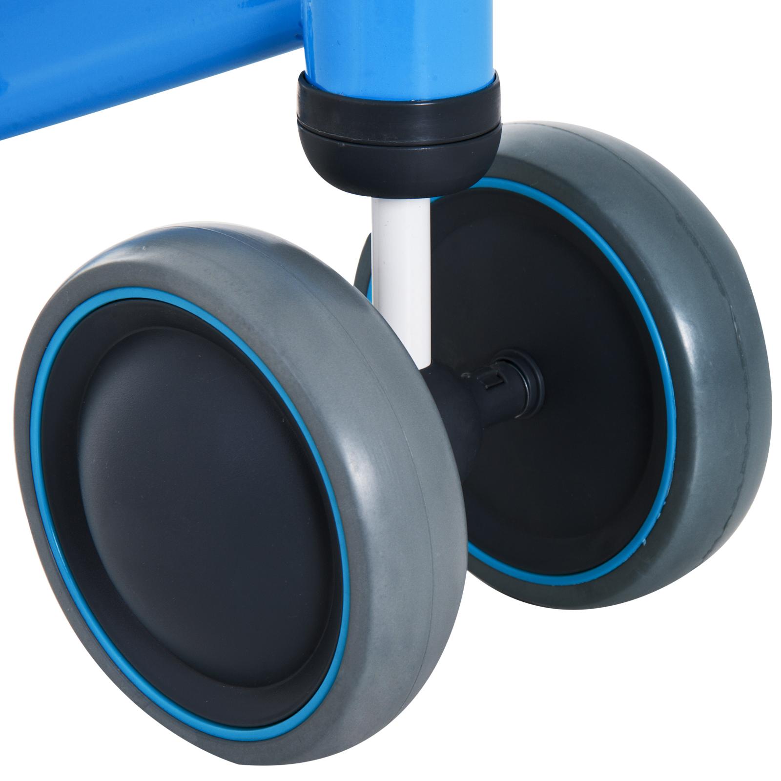 Triciclo-Bicicleta-sin-Pedales-para-Nino-1-3-Anos-Sillon-Comodo-Aluminio miniatura 18