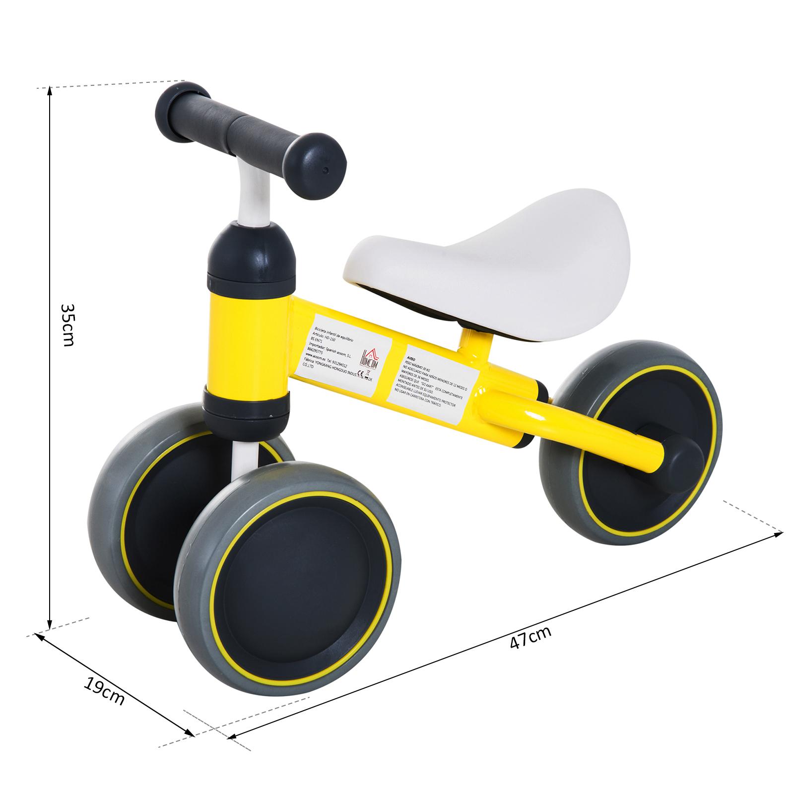 Triciclo-Bicicleta-sin-Pedales-para-Nino-1-3-Anos-Sillon-Comodo-Aluminio miniatura 8