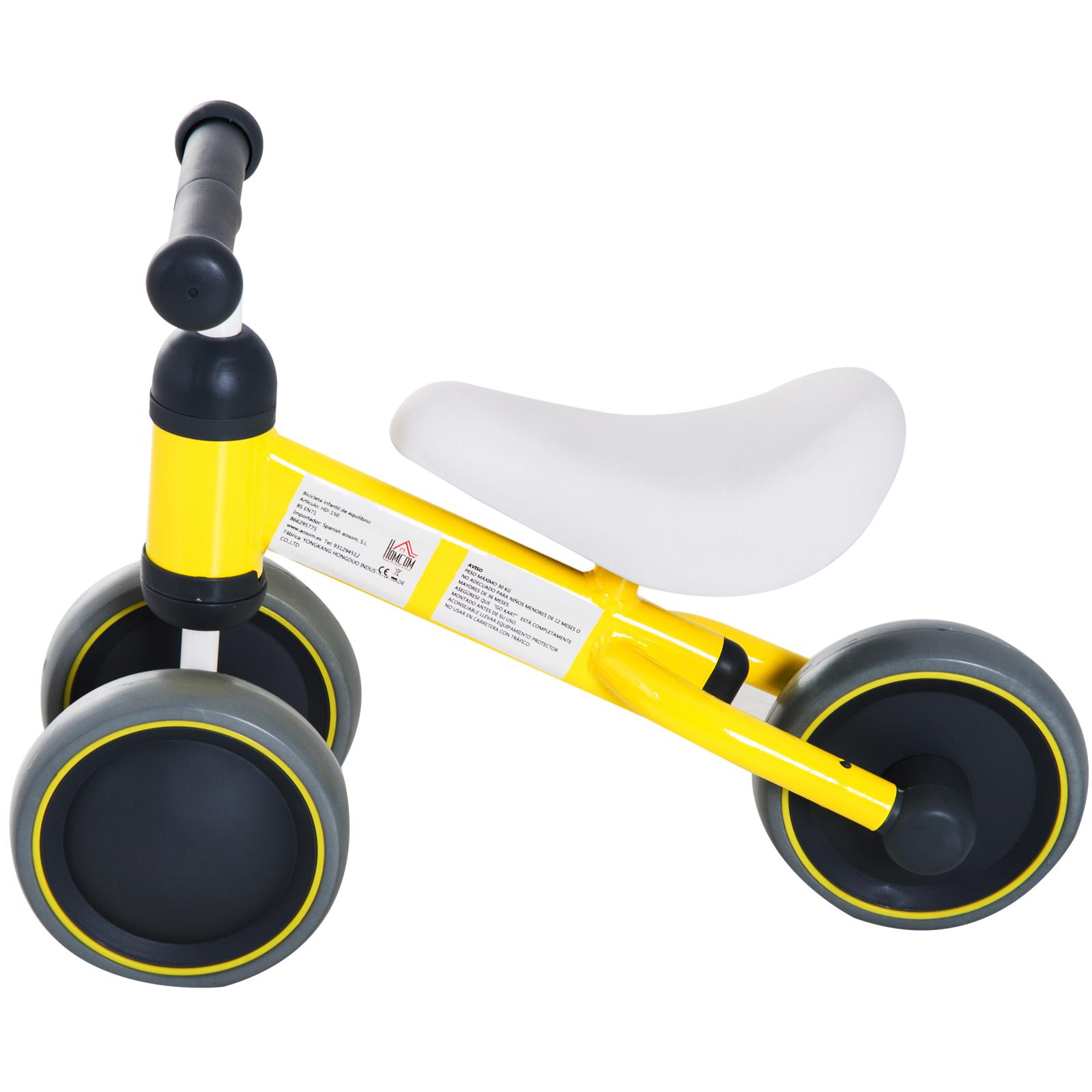 Triciclo-Bicicleta-sin-Pedales-para-Nino-1-3-Anos-Sillon-Comodo-Aluminio miniatura 12