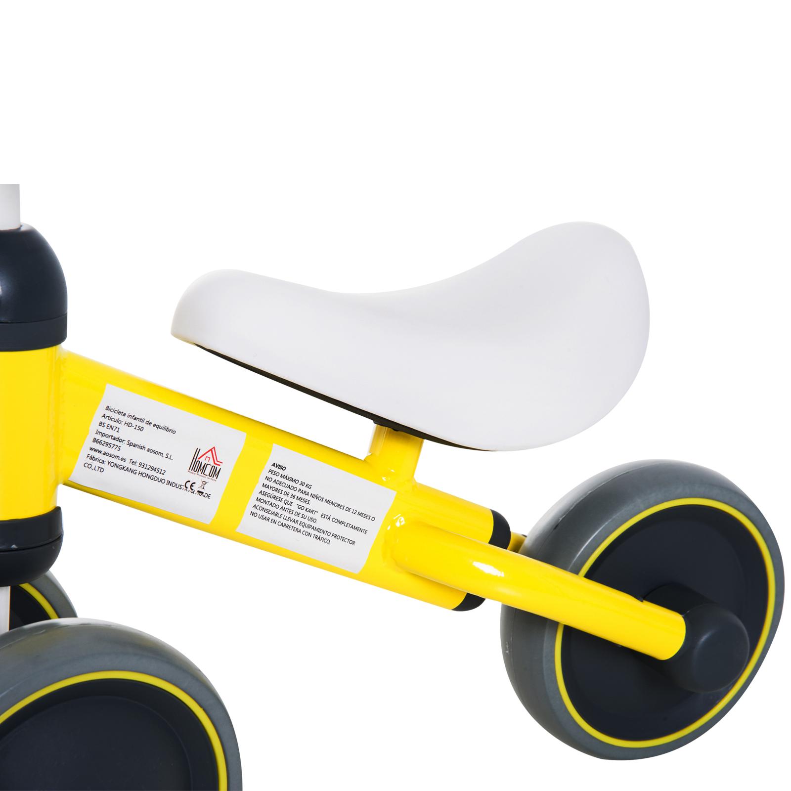 Triciclo-Bicicleta-sin-Pedales-para-Nino-1-3-Anos-Sillon-Comodo-Aluminio miniatura 4