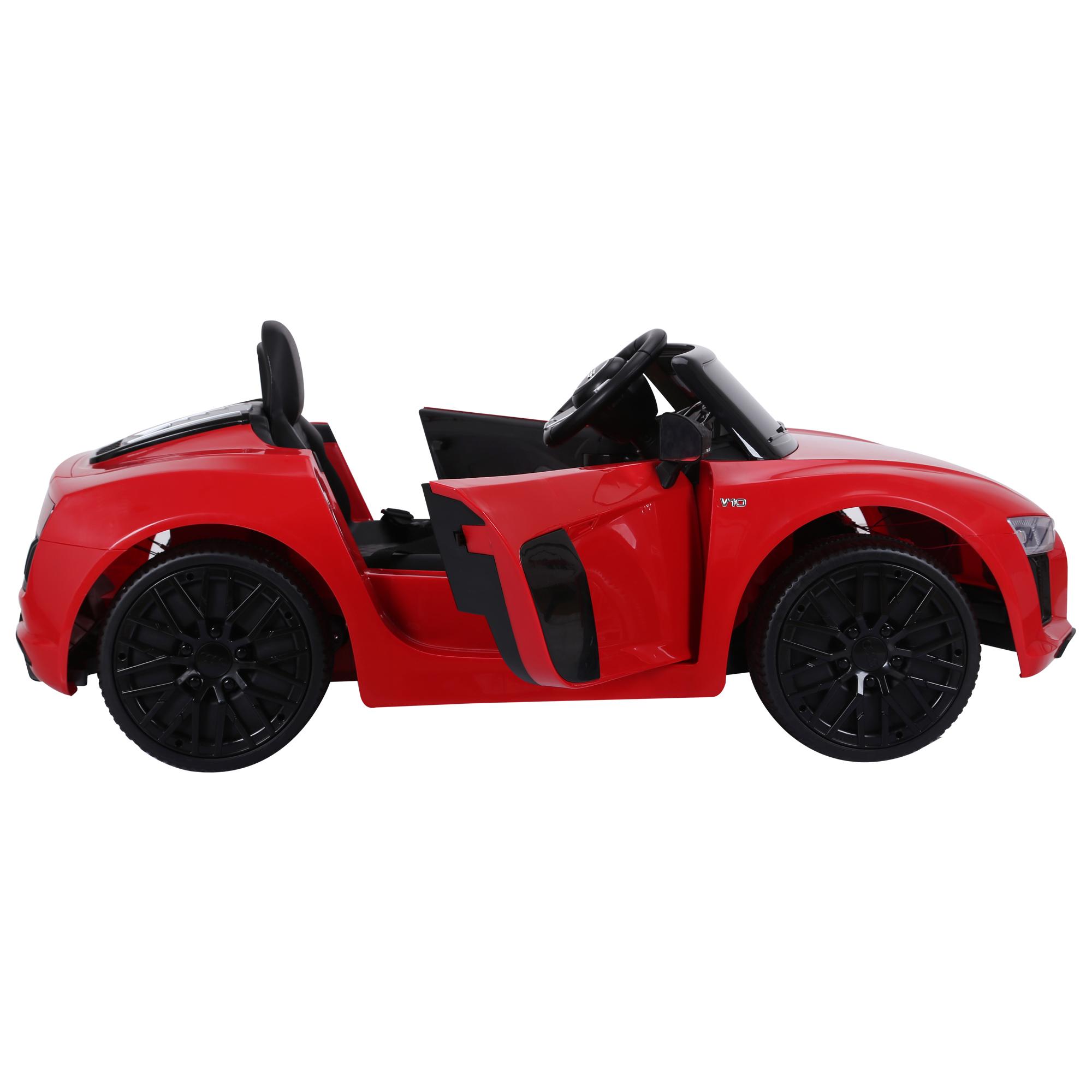 Coche-Electrico-para-Nino-3-8-Anos-Audi-R8-Bateria-12V-Control-Remoto-Carga-30kg miniatura 25
