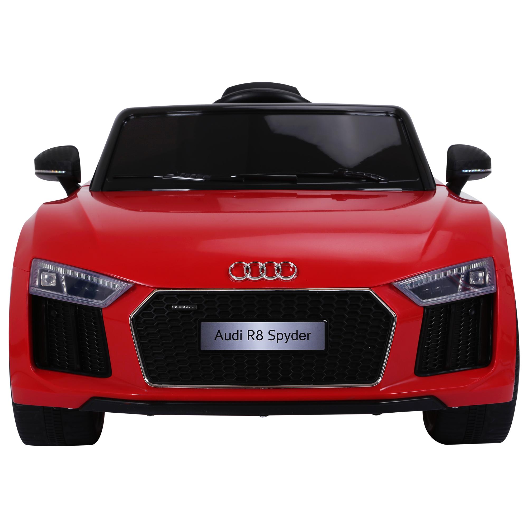 Coche-Electrico-para-Nino-3-8-Anos-Audi-R8-Bateria-12V-Control-Remoto-Carga-30kg miniatura 16