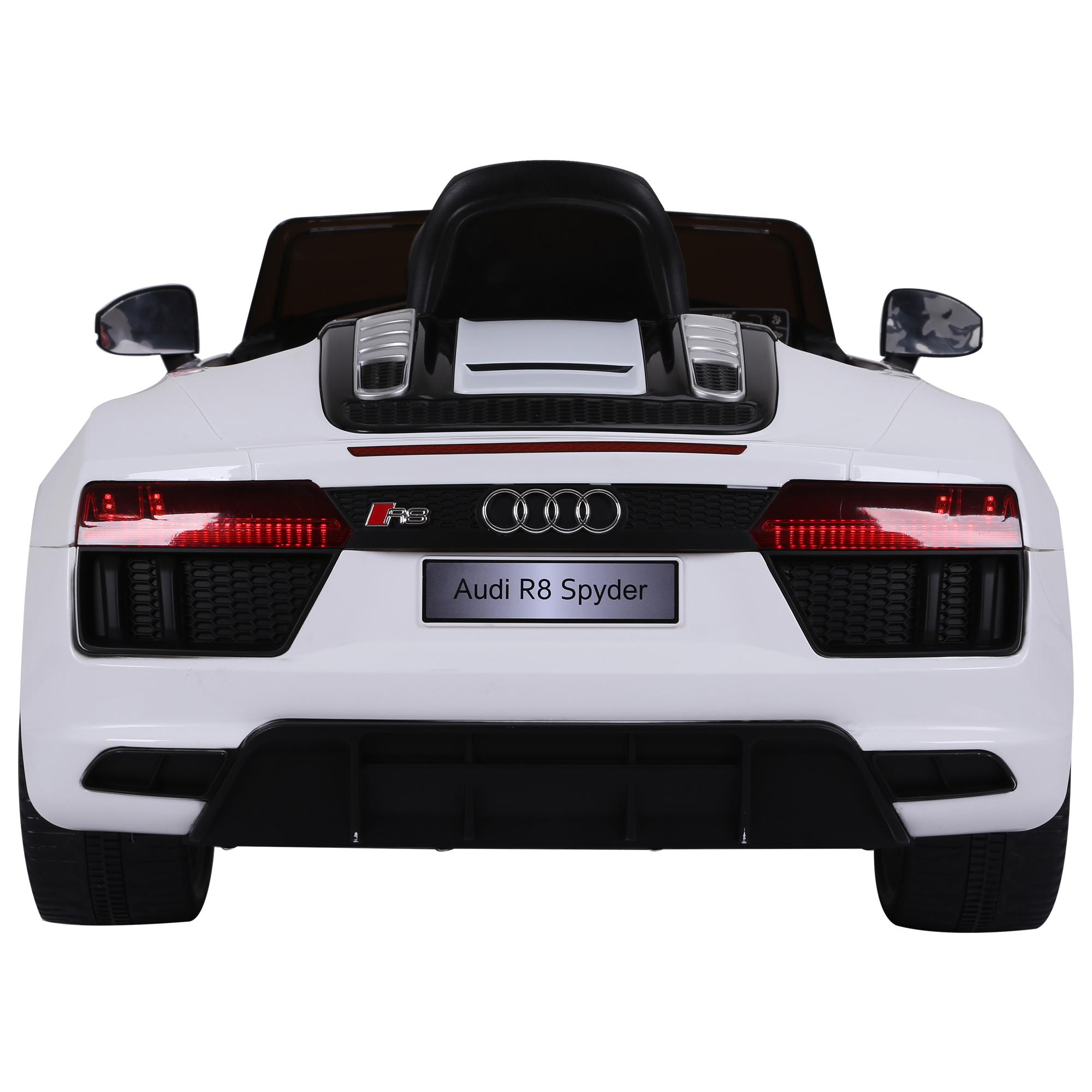 Coche-Electrico-para-Nino-3-8-Anos-Audi-R8-Bateria-12V-Control-Remoto-Carga-30kg miniatura 6