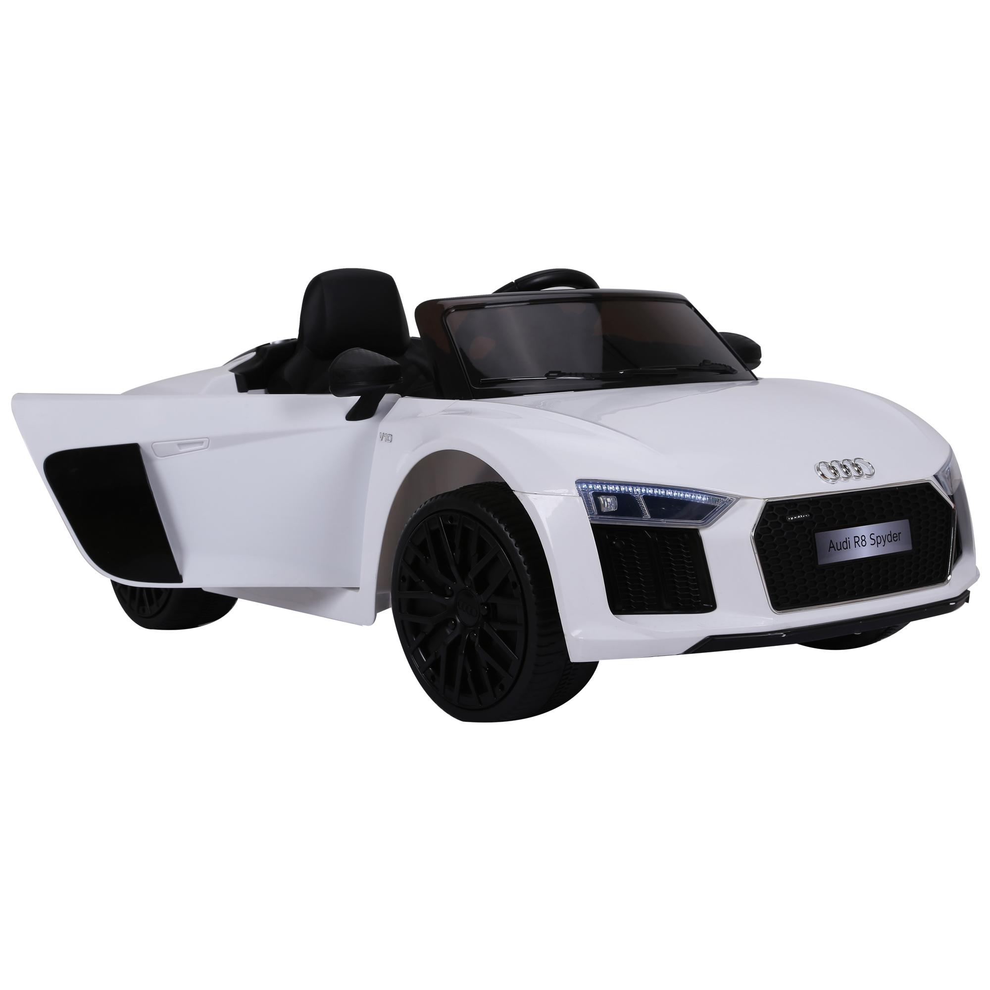 Coche-Electrico-para-Nino-3-8-Anos-Audi-R8-Bateria-12V-Control-Remoto-Carga-30kg miniatura 11