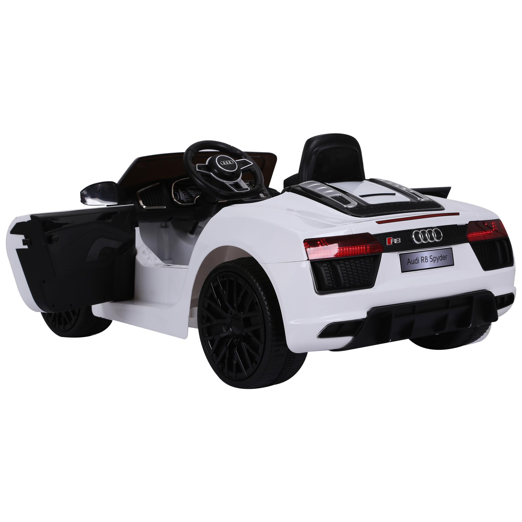 miniatura 8 - Coche Eléctrico para Niño 3-8 Años Audi R8 Batería 12V Control Remoto Carga 30kg
