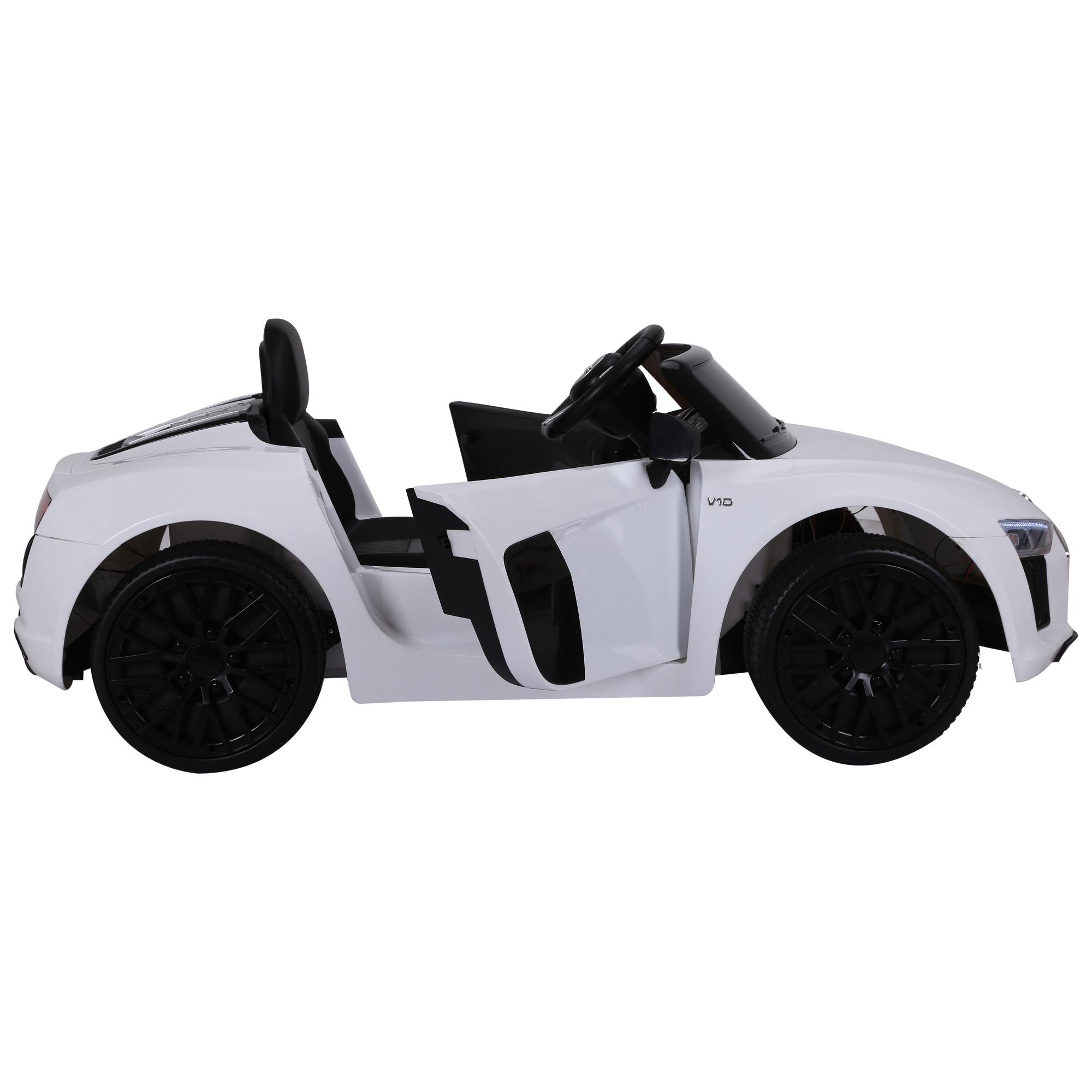 miniatura 10 - Coche Eléctrico para Niño 3-8 Años Audi R8 Batería 12V Control Remoto Carga 30kg
