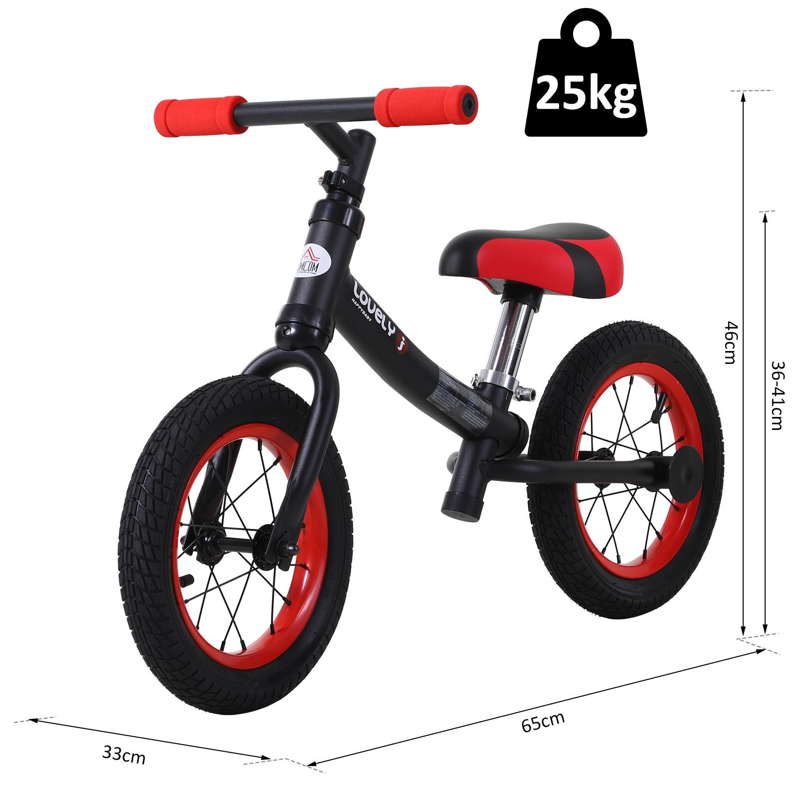 Bicicleta-sin-Pedales-de-Altura-de-Asiento-Regulable-31-45cm-2-5-Anos miniatura 9