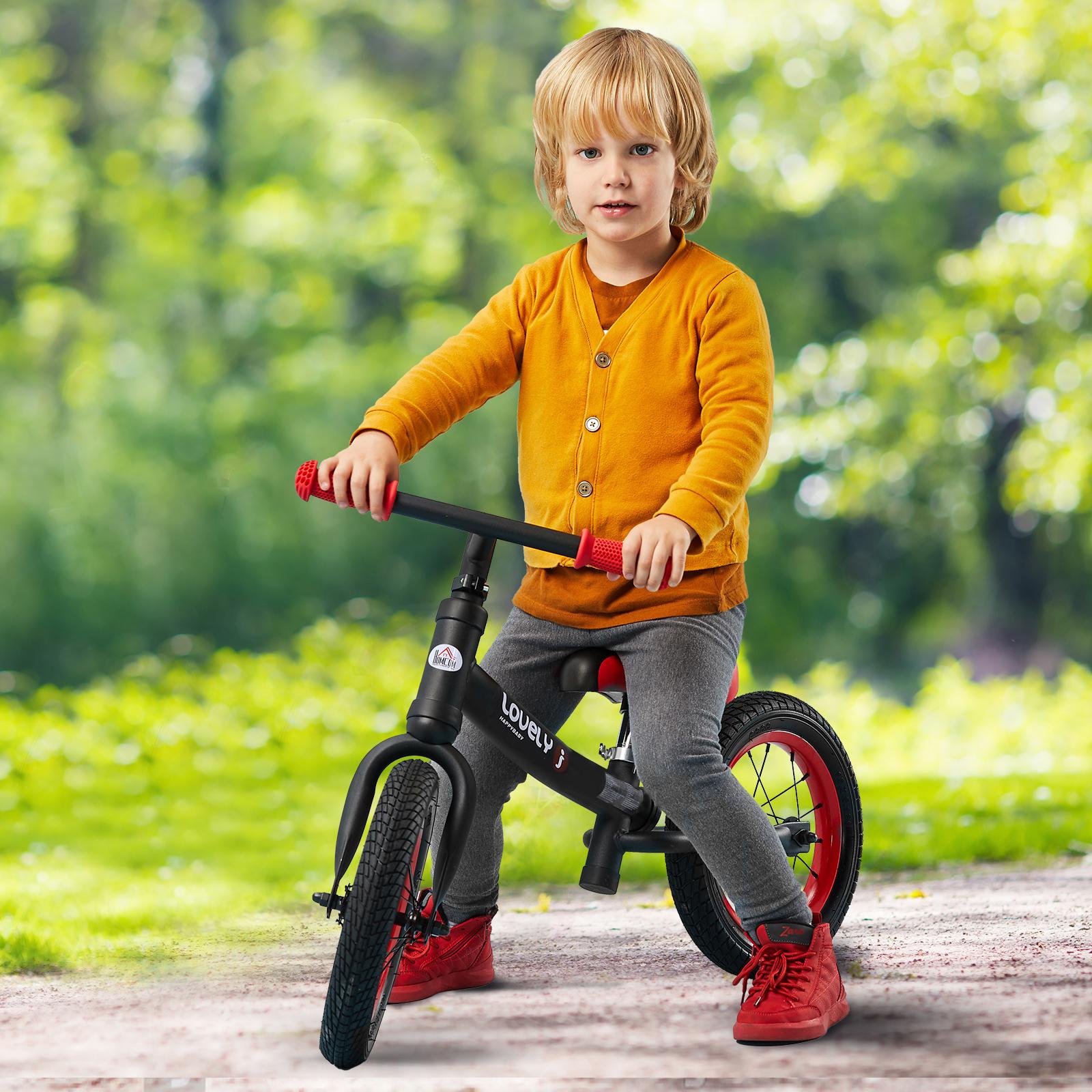 Bicicleta-sin-Pedales-de-Altura-de-Asiento-Regulable-31-45cm-2-5-Anos miniatura 13