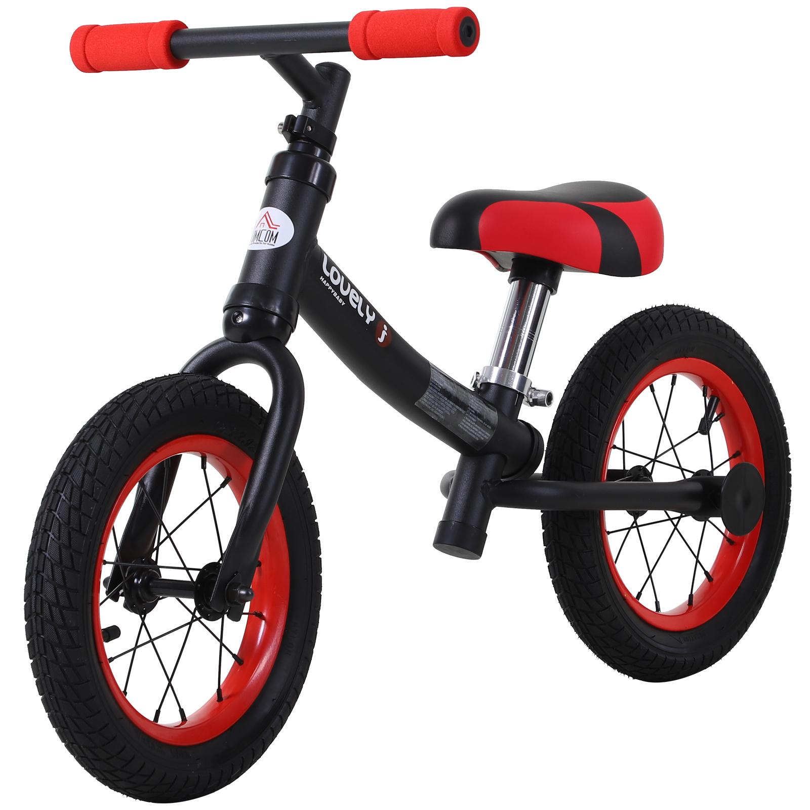 Bicicleta-sin-Pedales-de-Altura-de-Asiento-Regulable-31-45cm-2-5-Anos miniatura 4