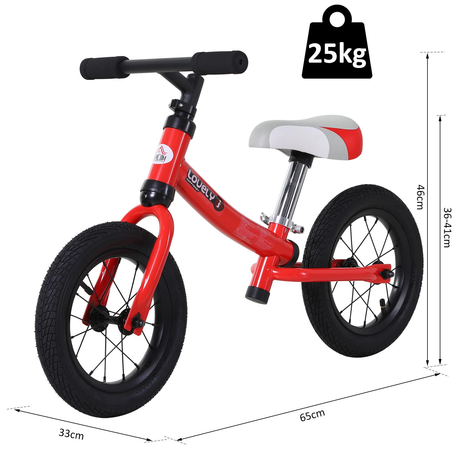 Bicicleta-sin-Pedales-de-Altura-de-Asiento-Regulable-31-45cm-2-5-Anos miniatura 20