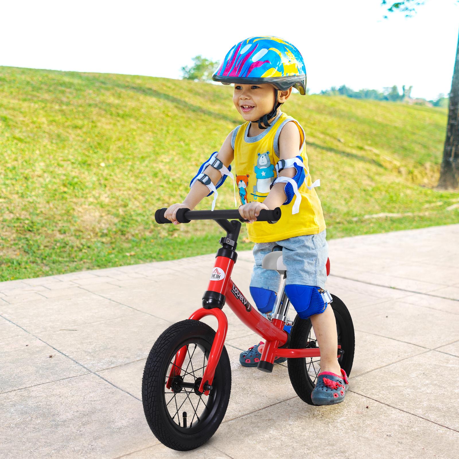 Bicicleta-sin-Pedales-de-Altura-de-Asiento-Regulable-31-45cm-2-5-Anos miniatura 24