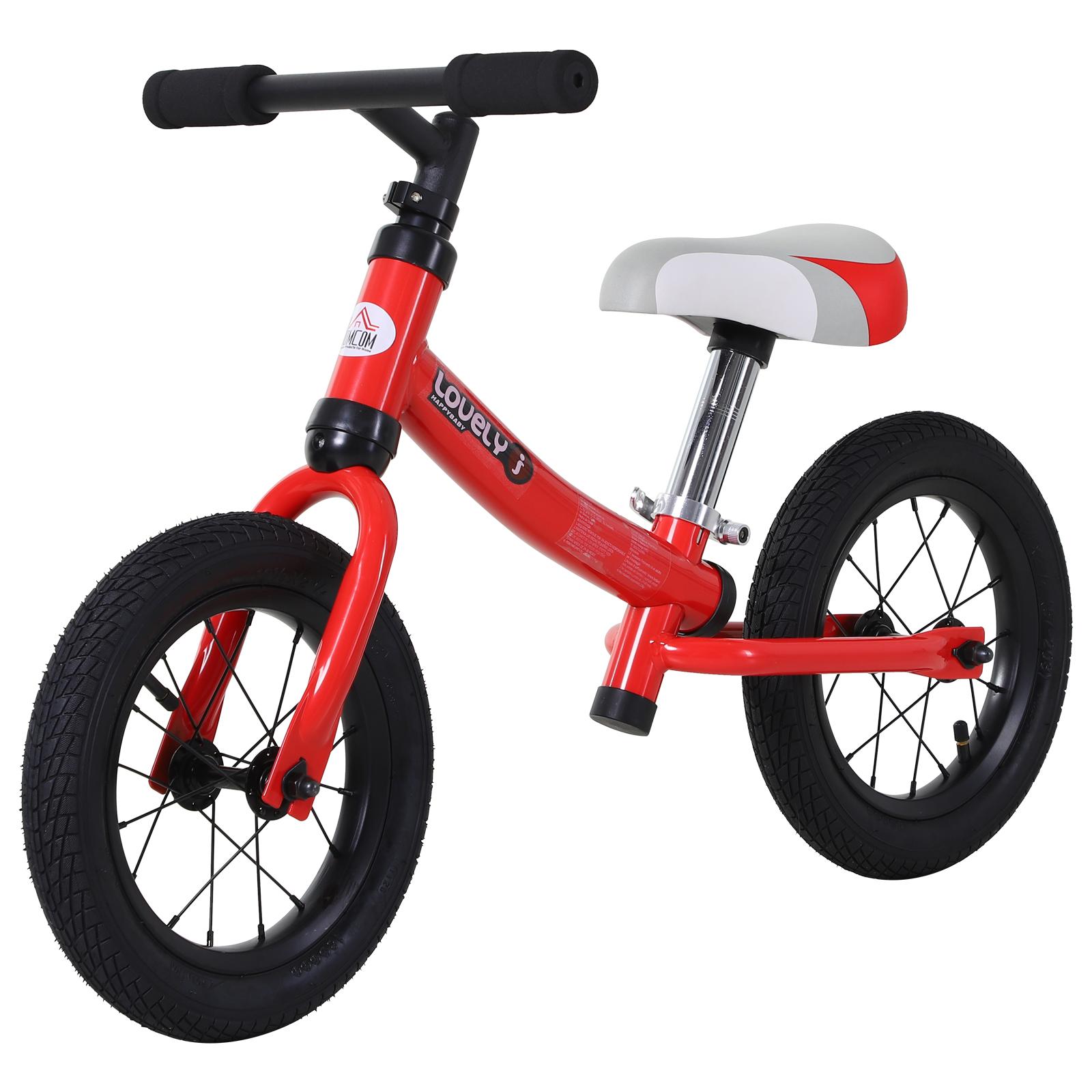 Bicicleta-sin-Pedales-de-Altura-de-Asiento-Regulable-31-45cm-2-5-Anos miniatura 15