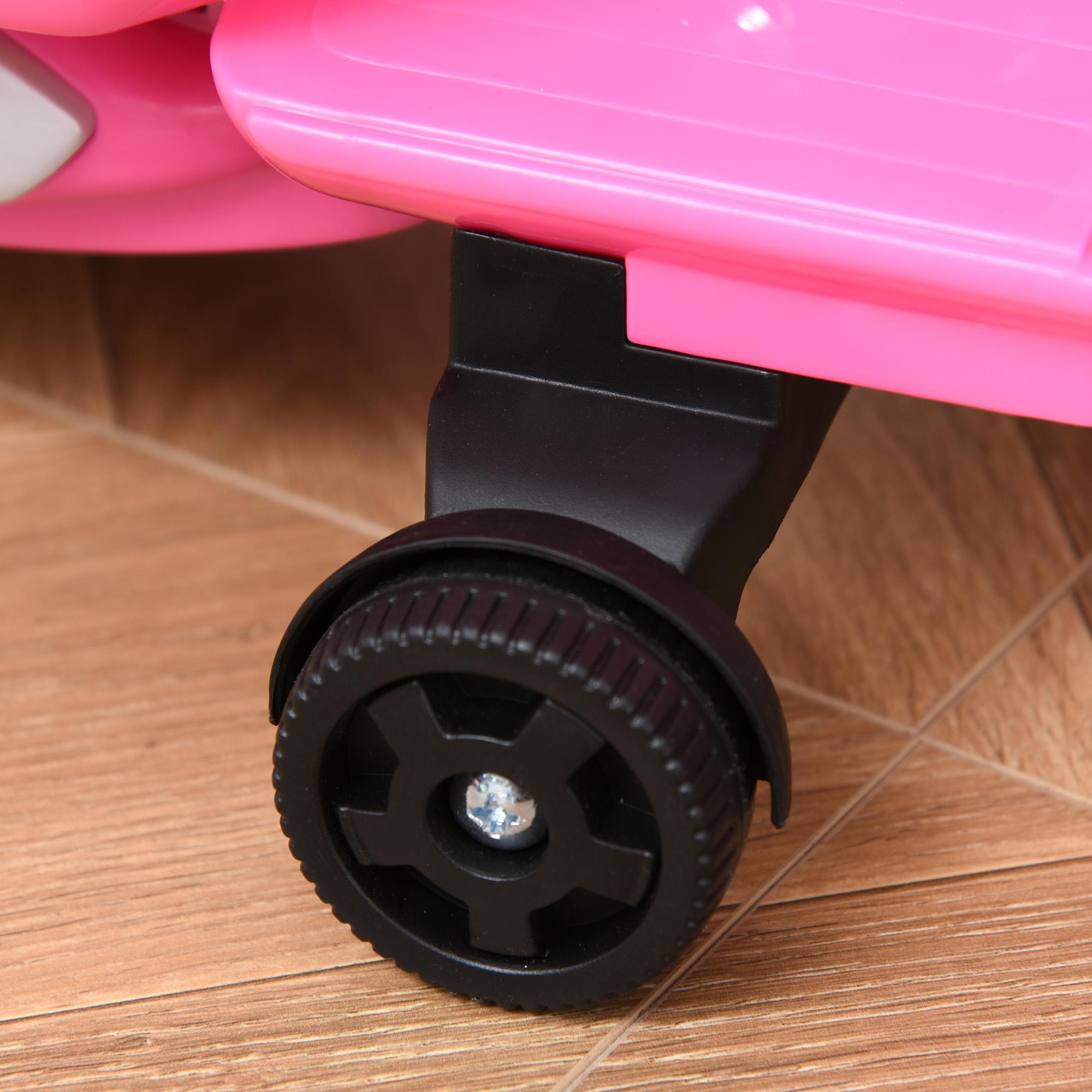 miniatura 16 - Moto Eléctrica Vespa para Niños +18 Meses con Faro Bocina y 4 Ruedas COLOR