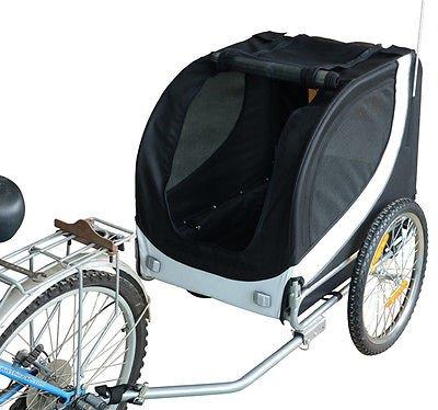 Remolque-Bicicleta-Perro-Mascota-1-Bandera-6-Reflectores-1-Barra-de-Traccion miniatura 7
