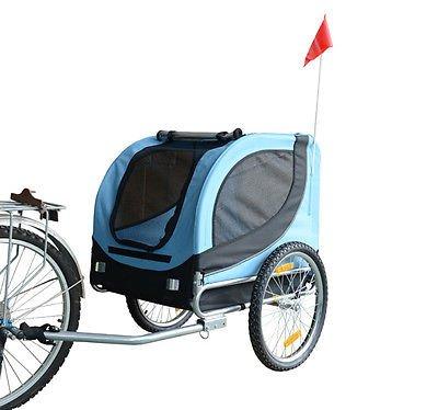 Remolque-Bicicleta-Perro-Mascota-1-Bandera-6-Reflectores-1-Barra-de-Traccion miniatura 3
