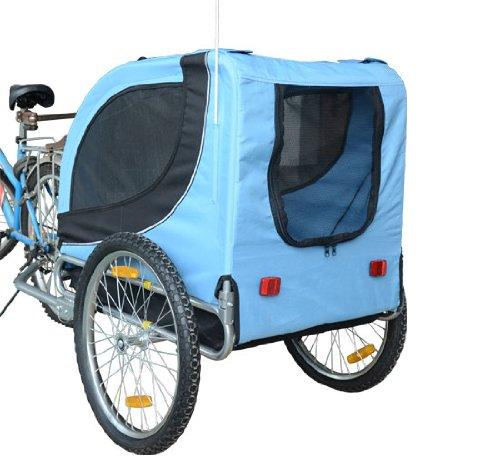Remolque-Bicicleta-Perro-Mascota-1-Bandera-6-Reflectores-1-Barra-de-Traccion miniatura 5
