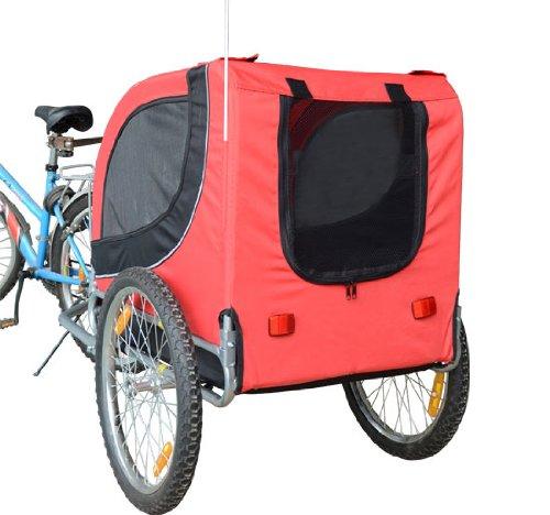 Remolque-Bicicleta-Perro-Mascota-1-Bandera-6-Reflectores-1-Barra-de-Traccion miniatura 16
