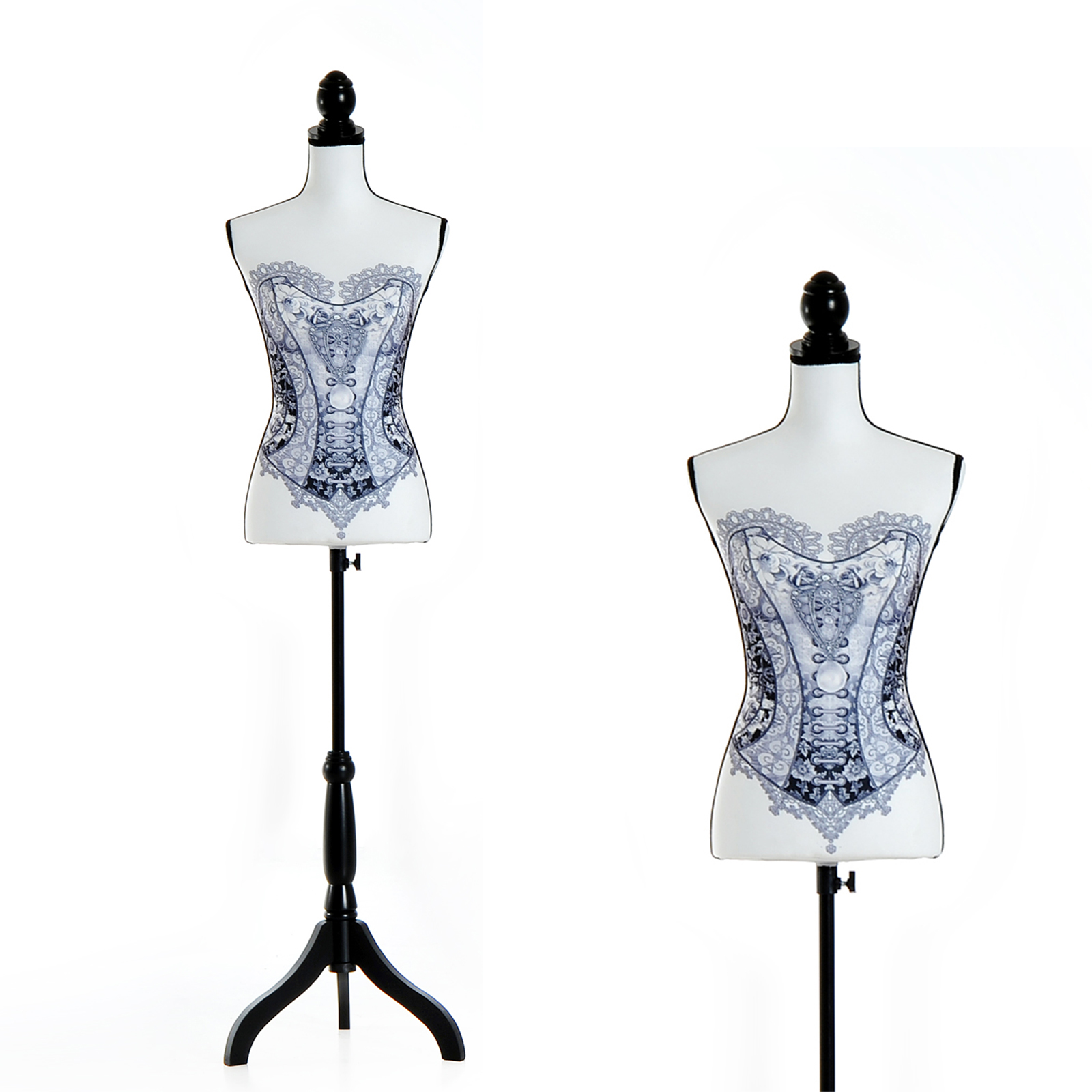 Maniqui-Femenino-de-Costura-Busto-de-Senora-para-Exposicion-Modista-130-168cm miniatura 14