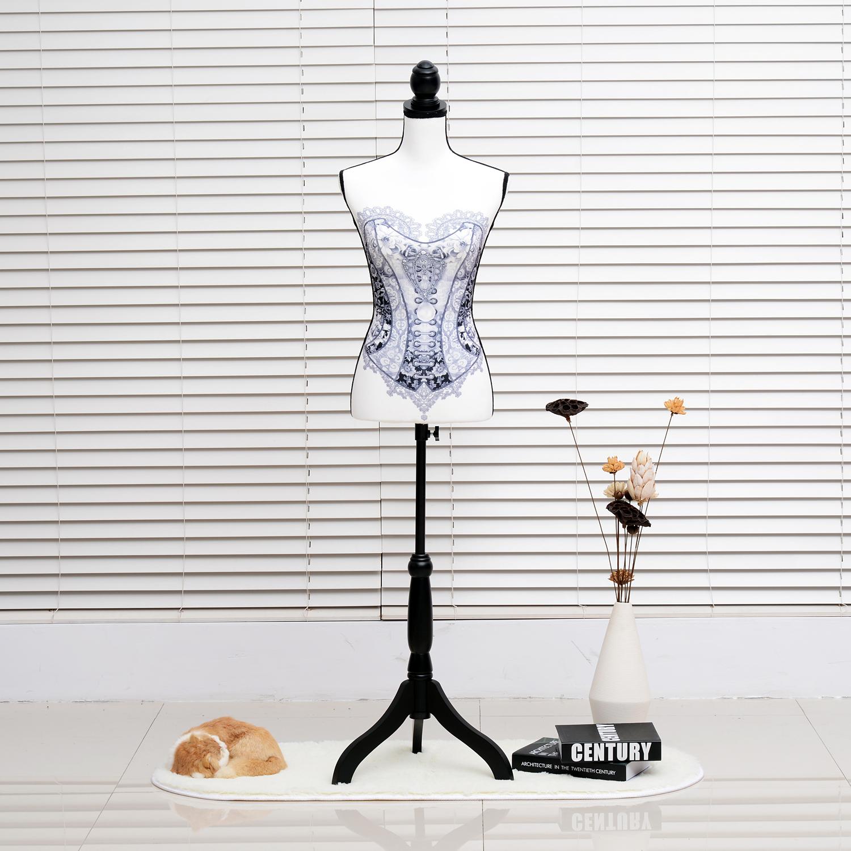 Maniqui-Femenino-de-Costura-Busto-de-Senora-para-Exposicion-Modista-130-168cm miniatura 15
