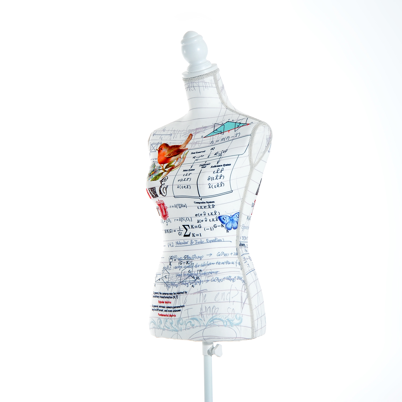 Maniqui-Femenino-de-Costura-Busto-de-Senora-para-Exposicion-Modista-130-168cm miniatura 12