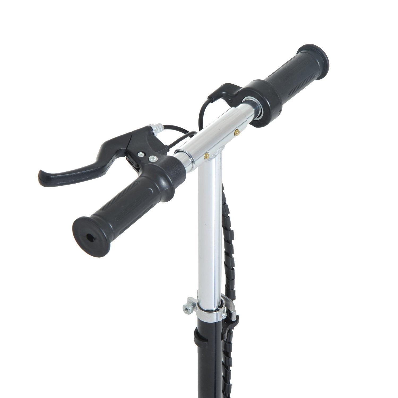 Patinete-Electrico-Plegable-E-Scooter-Bateria-120W-Manillar-Asiento-Ajustable miniatura 5