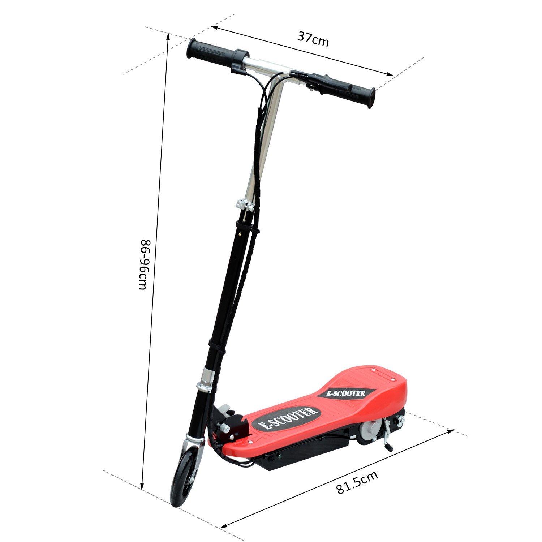 Patinete-Plegable-con-Manillar-Ajustable-tipo-Scooter-Electrico-de-Acero-Nuevo miniatura 32