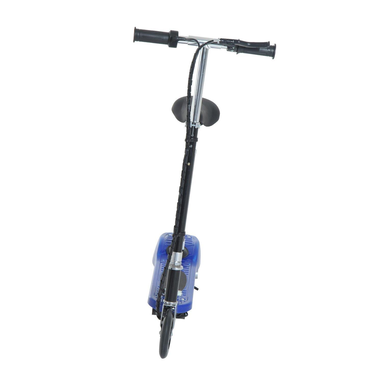 Patinete-Electrico-Plegable-E-Scooter-Bateria-120W-Manillar-Asiento-Ajustable miniatura 9