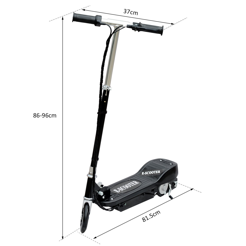 Patinete-Plegable-con-Manillar-Ajustable-tipo-Scooter-Electrico-de-Acero-Nuevo miniatura 20