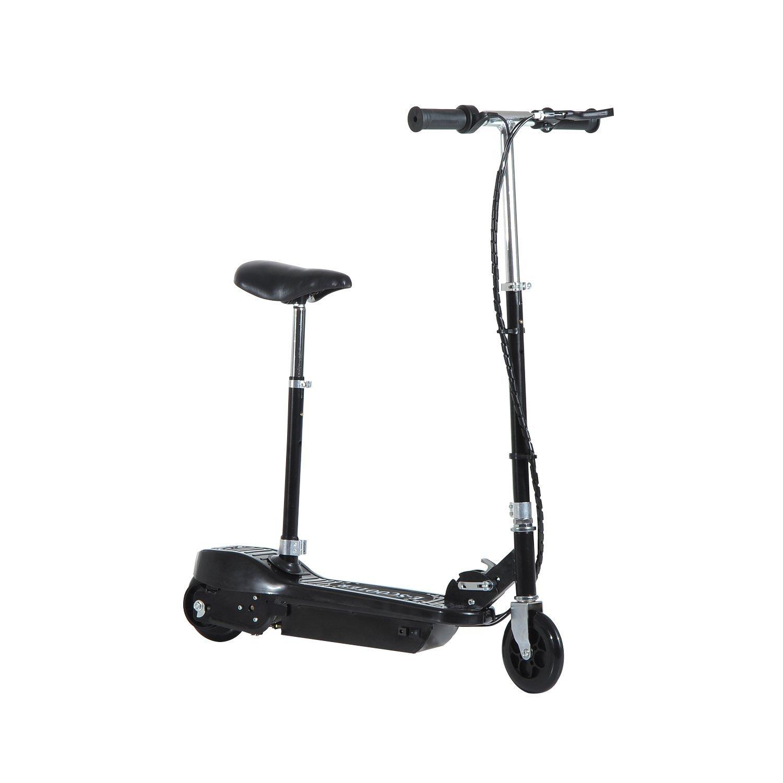 Patinete-Electrico-Plegable-E-Scooter-Bateria-120W-Manillar-Asiento-Ajustable miniatura 15