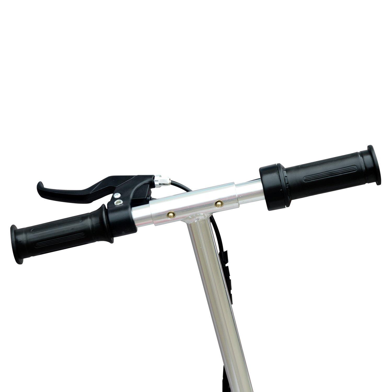 Patinete-Plegable-con-Manillar-Ajustable-tipo-Scooter-Electrico-de-Acero-Nuevo miniatura 30