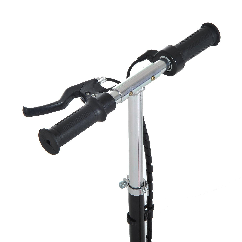 Patinete-Electrico-Plegable-E-Scooter-Bateria-120W-Manillar-Asiento-Ajustable miniatura 28