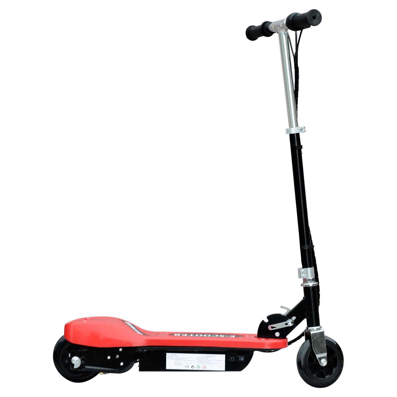 Patinete-Plegable-con-Manillar-Ajustable-tipo-Scooter-Electrico-de-Acero-Nuevo miniatura 28