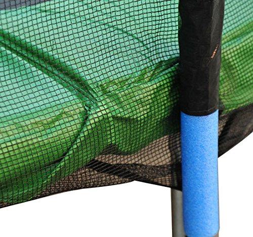 Red-de-Seguridad-Pared-Protectora-Cama-Elastica-Trampolin-Redonda-6-8-10-Barras miniatura 20