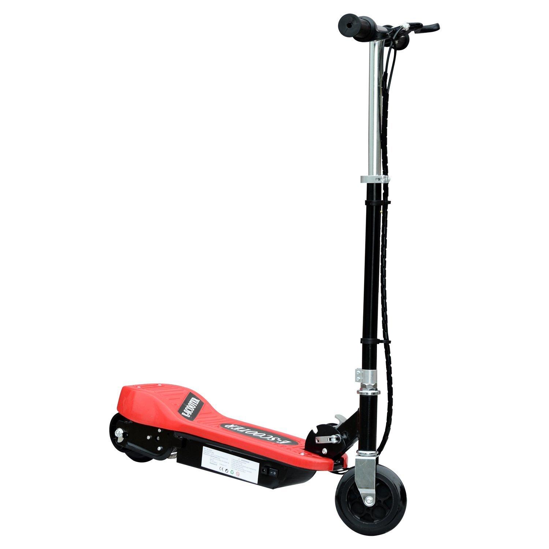 Patinete-Plegable-con-Manillar-Ajustable-tipo-Scooter-Electrico-de-Acero-Nuevo miniatura 27