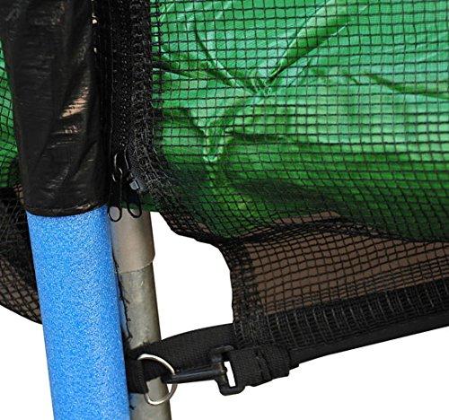 Red-de-Seguridad-Pared-Protectora-Cama-Elastica-Trampolin-Redonda-6-8-10-Barras miniatura 18