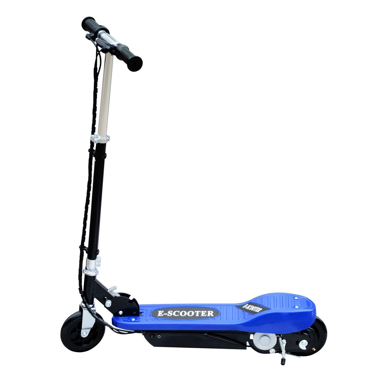 Patinete-Plegable-con-Manillar-Ajustable-tipo-Scooter-Electrico-de-Acero-Nuevo miniatura 4