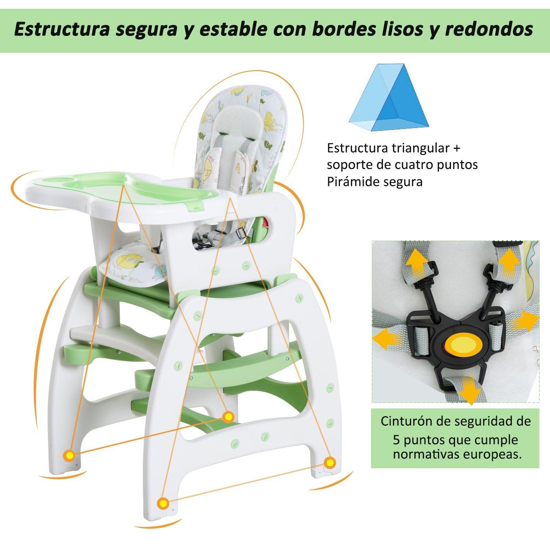 3-en-1-Sillita-Trona-Mecedora-Balancin-Bebe-Convertible-Multifuncional-Infantil miniatura 43