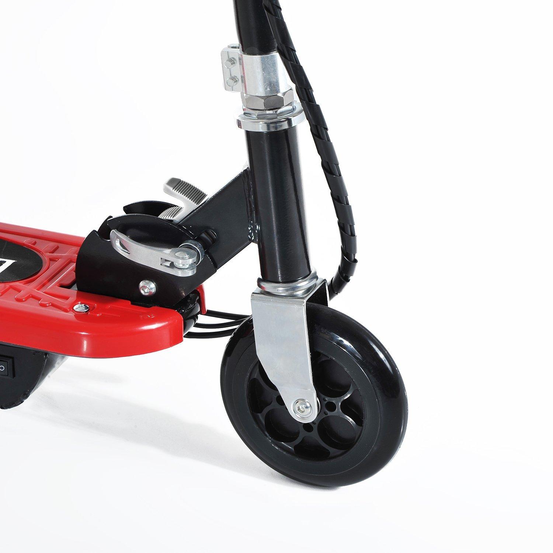 Patinete-Electrico-Plegable-E-Scooter-Bateria-120W-Manillar-Asiento-Ajustable miniatura 30