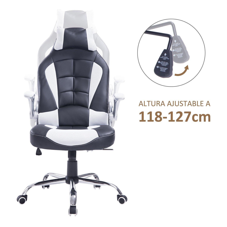 Silla-de-Oficina-Gaming-Reclinable-tipo-Sillon-de-Escritorio-118-127cm-120kg