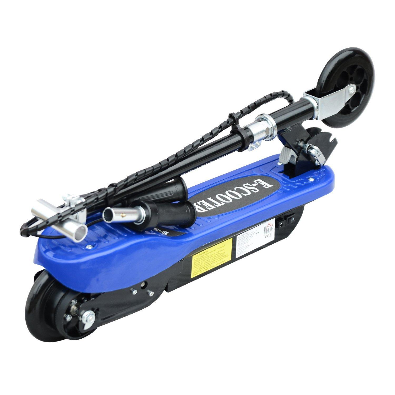 Patinete-Plegable-con-Manillar-Ajustable-tipo-Scooter-Electrico-de-Acero-Nuevo miniatura 5