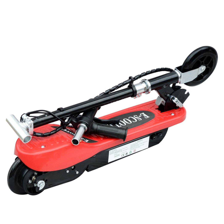 Patinete-Plegable-con-Manillar-Ajustable-tipo-Scooter-Electrico-de-Acero-Nuevo miniatura 29