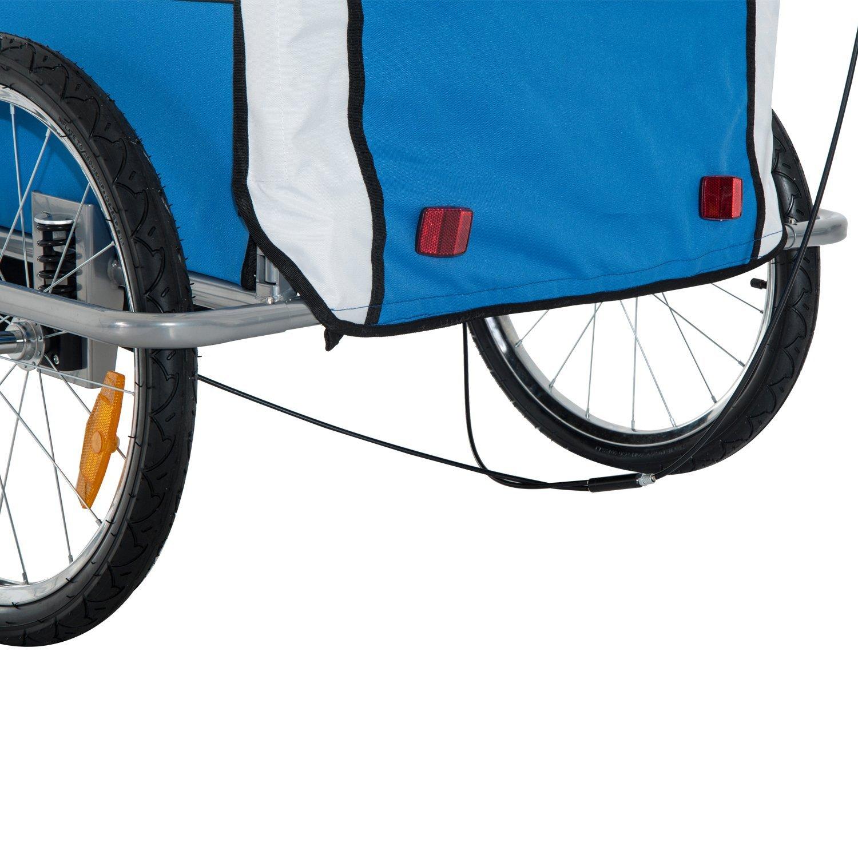 Remolque-Infantil-Bicicleta-2-PLAZAS-Kit-Footing-Rueda-360-Amortiguadores-Barra miniatura 9