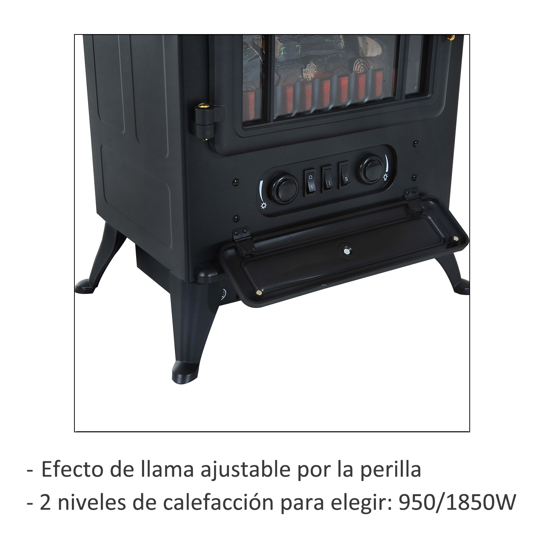 Chimenea-Electrica-de-Pared-Vertical-Estufas-Electricas-Llama-LED-6-Tipos-Nuevo miniatura 27