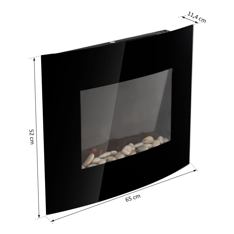 Chimenea-Electrica-de-Pared-Vertical-Estufas-Electricas-Llama-LED-6-Tipos-Nuevo miniatura 42