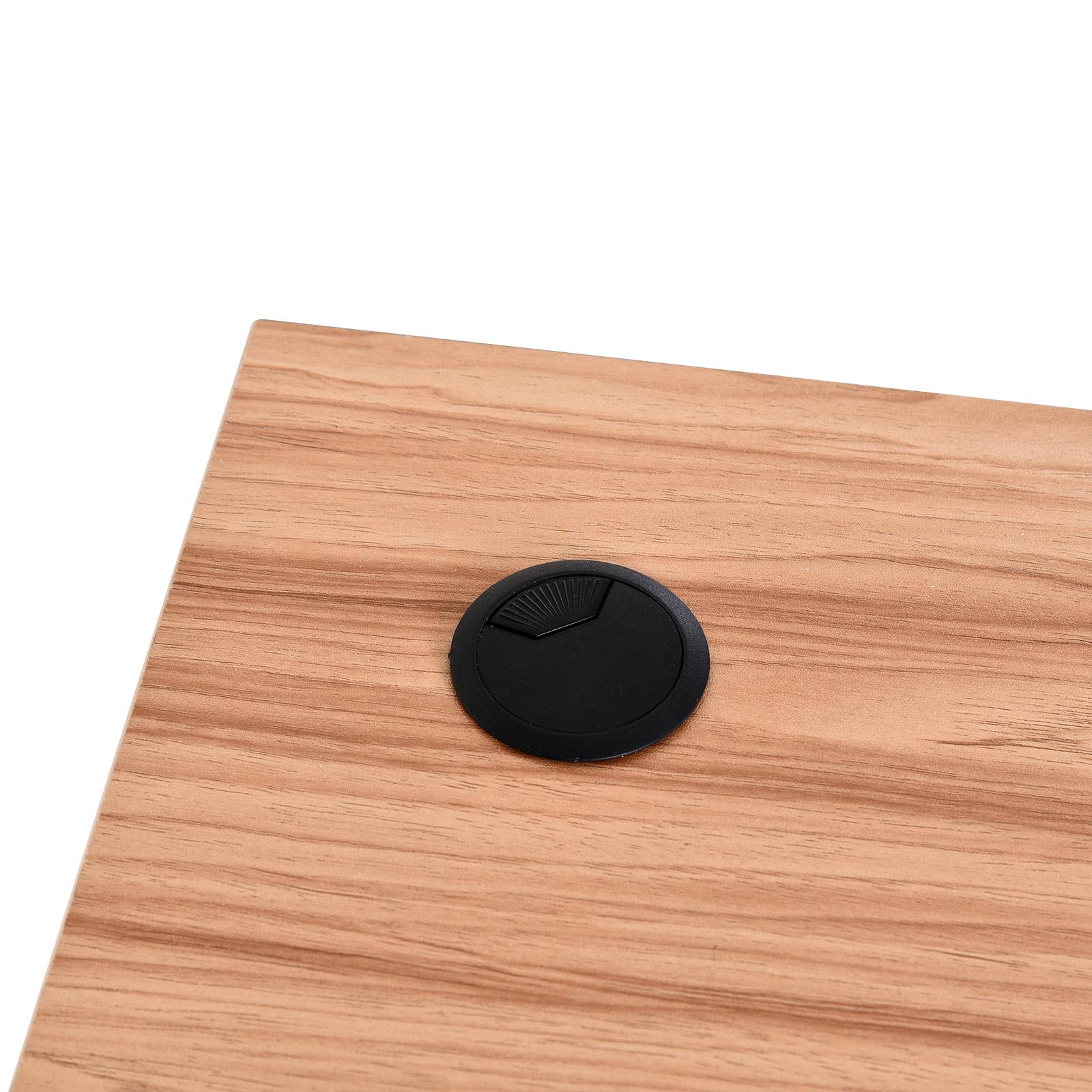 Mesa-de-Ordenador-PC-Escritorio-para-Oficina-Hogar-Esquinera-Forma-L-Madera miniatura 21